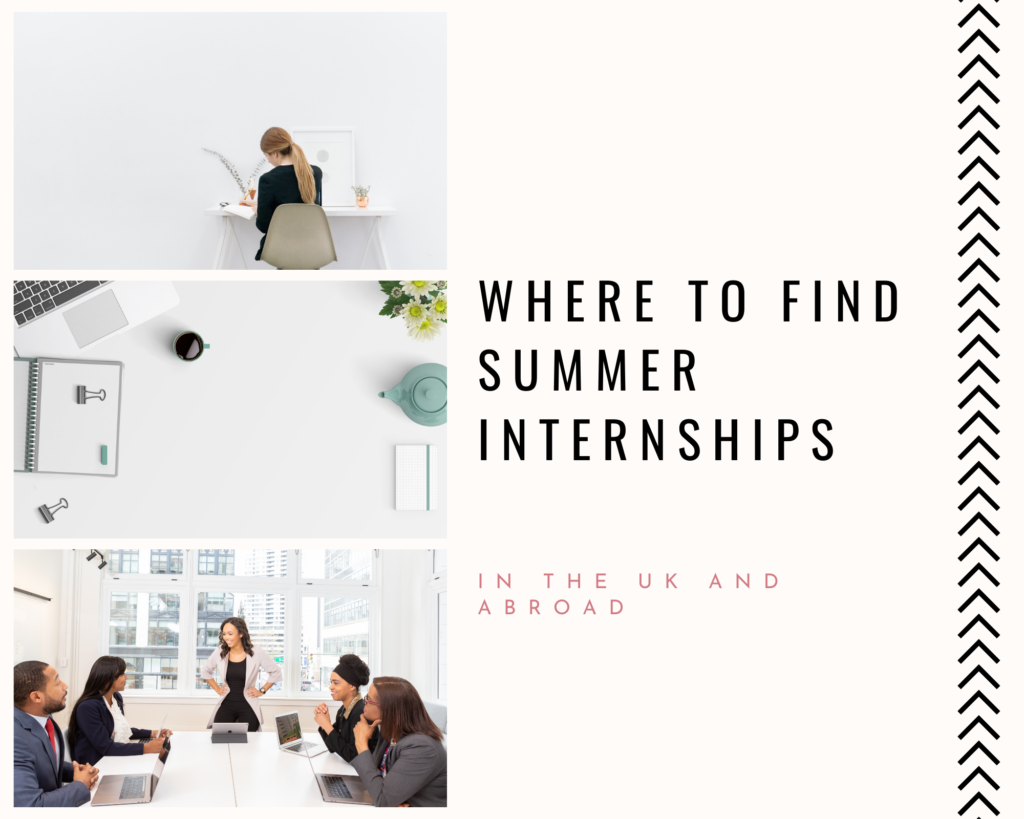 Where to find summer interships